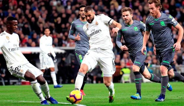 Liga de España: Real Madrid sufrió una dura derrota como local contra la Real Sociedad