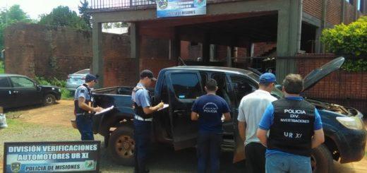En operativo vial, la Policía secuestró una camioneta adulterada y robada en Capital Federal