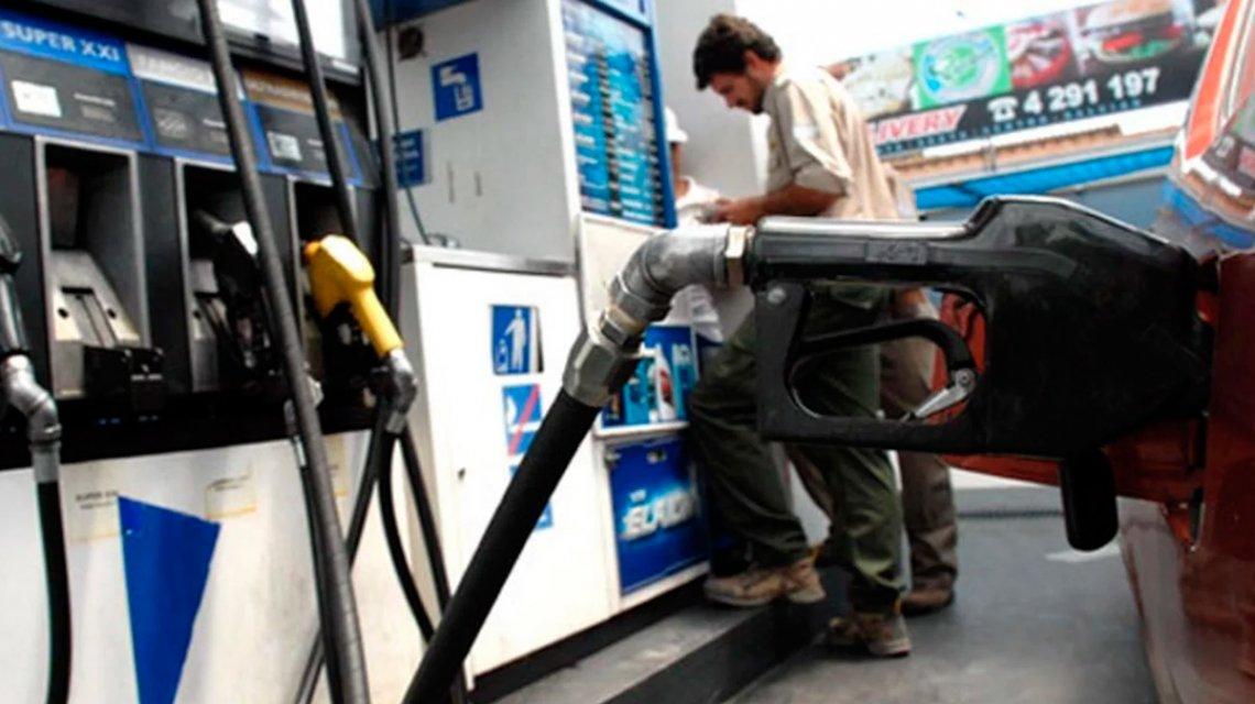 Desde el próximo lunes suben las naftas