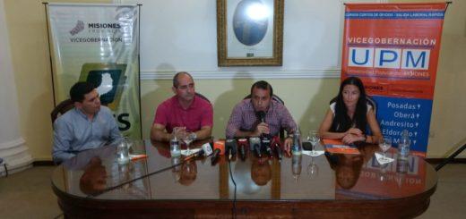 El vicegobernador Oscar Herrera Ahuad firmó un convenio con varias instituciones para capacitación educativa en zonas rurales