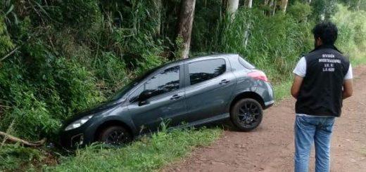 Robó un auto en Cerro Azul y lo abandonó tras un despiste