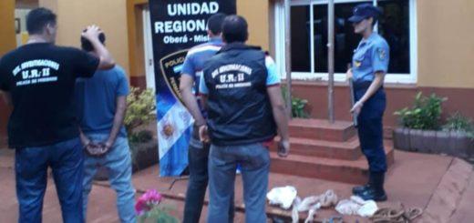 En un año, la Policía detuvo a 400 personas por distintos hechos delictivos en Oberá