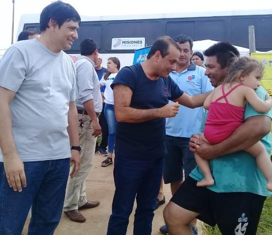 El Vicegobernador y el Intendente compartieron Verano-Misiones en Miguel Lanús