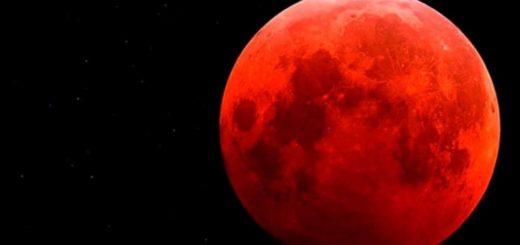 """El domingo a la noche se podrá ver una """"superluna de sangre"""""""