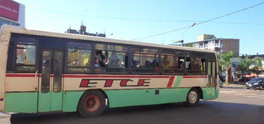 Eldorado: desde la empresa de transporte urbano solicitan un nuevo aumento del pasaje