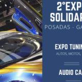 """""""Expo Tuning Audio Car Solidario"""" convocó a amantes de los fierros en la cascada de la Costanera de Posadas"""