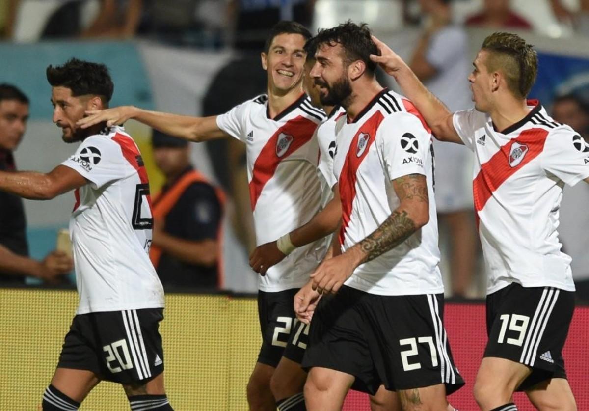 Con goleada incluida, River volvió a ganar en la Superliga