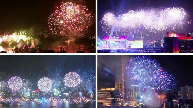 Vea cómo recibieron el Año Nuevo 2019 en todo el mundo