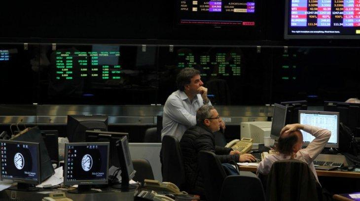 El Merval cayó y el riesgo país subió 2,9%