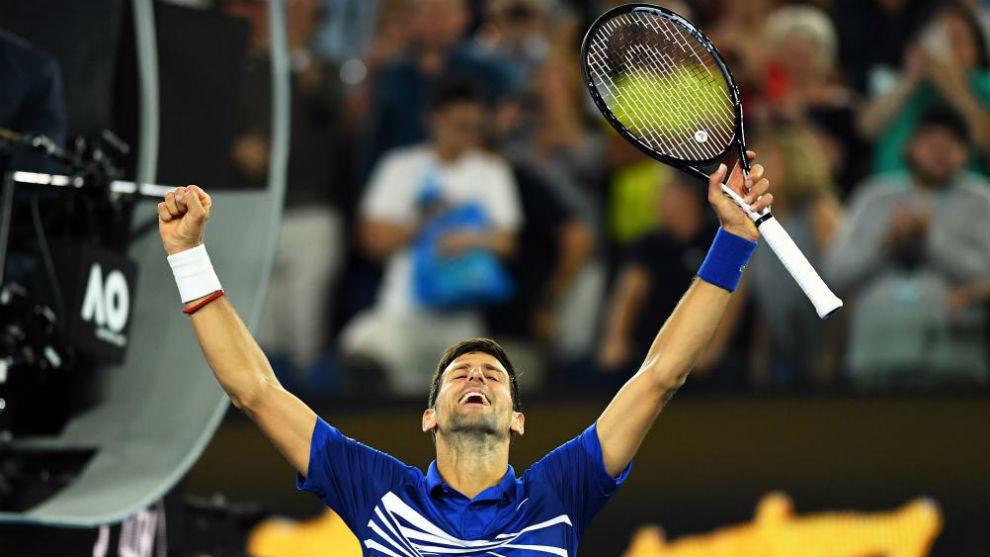 Tenis: Djokovic venció a Nadal en la final y se coronó campeón del Abierto de Australia 2019