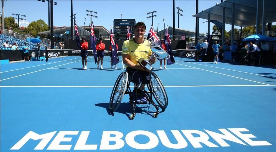Lo hizo nuevamente: Gustavo Fernández se coronó en el Abierto de Australia y consiguió su tercer Grand Slam