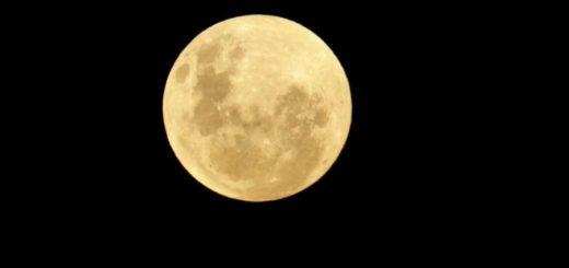 A la espera del eclipse: así se ve la Luna en Posadas ahora