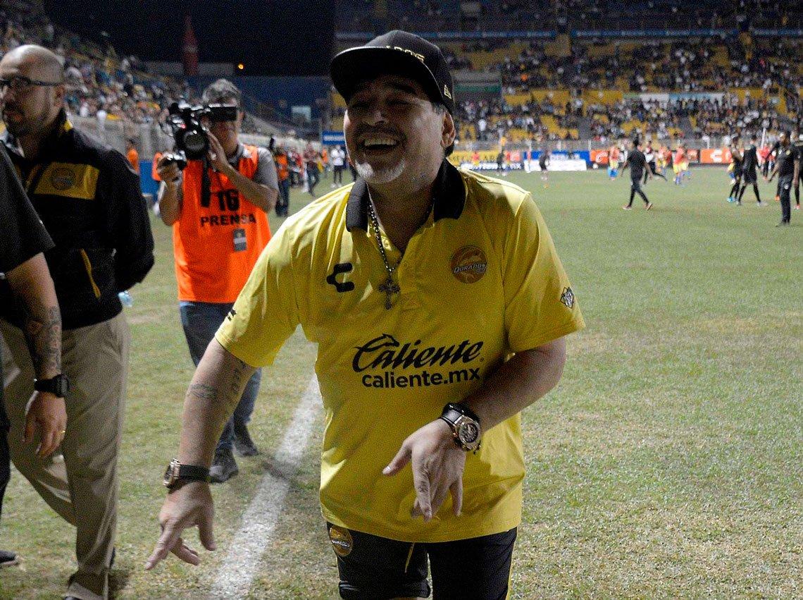 México: Diego Maradona podría dejar de ser el entrenador de Dorados