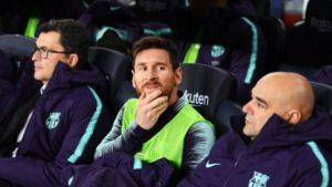 Messi rescató a Barcelona ante Leganés