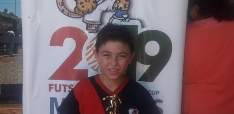 Orgullo misionero: con 9 años, el pequeño Franco jugará en un equipo australiano