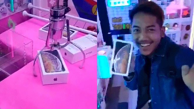 Se ganó un Iphone X y se encontró con dos sorpresas desagradables