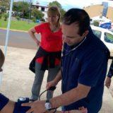 Las postas de salud en el balneario El Brete para asistir a los posadeños durante el verano funcionan a pleno