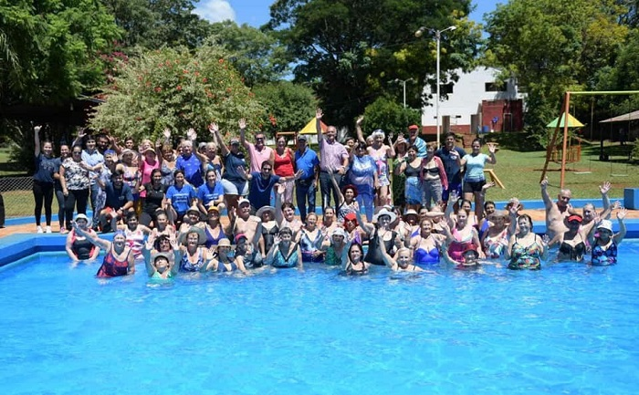 Más de 400 adultos mayores participaron de la colonia de vacaciones en el Club de Empleados del IPS