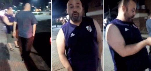 Increpó y amenazó a una mujer porque creyó que estaba esperando un chofer de Uber