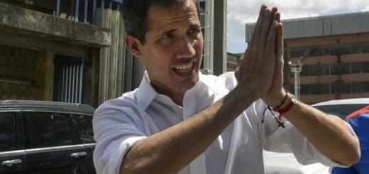 Guaidó pidió mayor presión internacional tras incidentes en Venezuela