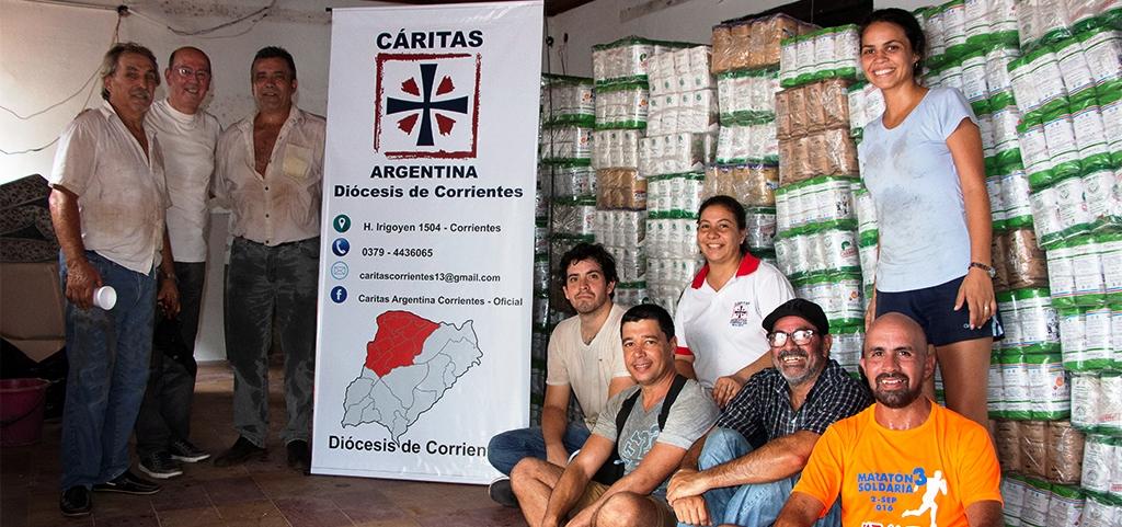 El INYM canalizó la donación de yerba mate para afectados por la inundaciones en Corrientes