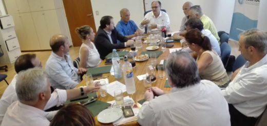 En Buenos Aires, Carlos Arce, presidente del IPS, mantuvo reuniones con ejecutivos del COSSPRA y con directivos del Hospital Italiano