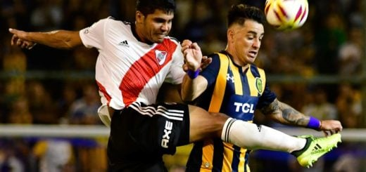 Superliga: en un partido con muchas emociones, Central y River empataron en Arroyito