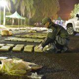 Tras persecución secuestraron marihuana valuada en 5 millones de pesos y detuvieron a dos narcos en Puerto Esperanza