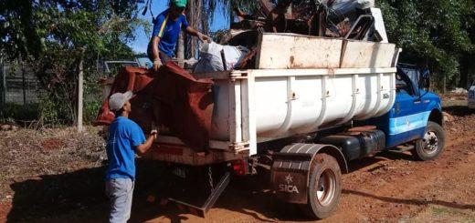 Durante enero se retiraron 650 toneladas de chatarra de los hogares posadeños