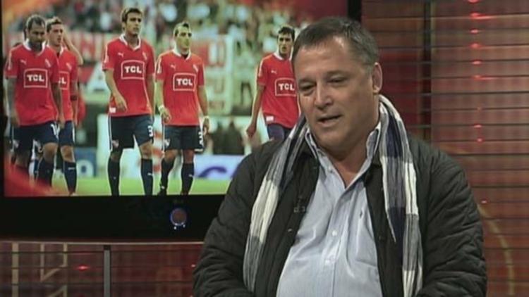 """Daniel Bertoni lapidario con Holan tras la caída del Rojo: """"Es ciclo terminado y debe renunciar"""""""