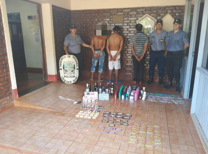 San José: detuvieron a tres personas por el robo a una despensa