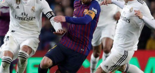 Barcelona y Real Madrid no se sacaron diferencias y dejaron abierta la semifinal de la Copa del Rey