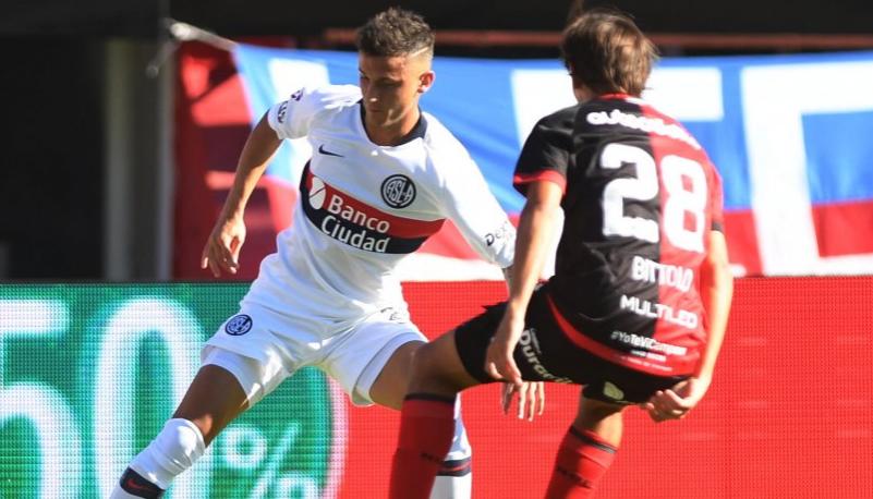 Superliga: San Lorenzo y Newell´s igualaron 1 a 1 en el Nuevo Gasómetro