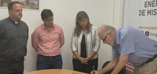 Energía de Misiones firmó su segundo convenio de cooperación con la Universidad Católica de Misiones