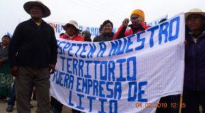 Organizaciones advierten sobre avance de proyectos mineros sin consulta a comunidades indígenas en Jujuy
