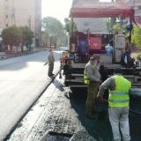 Seguridad vial urbana: continúan trabajando en la demarcación de calles y avenidas de Posadas