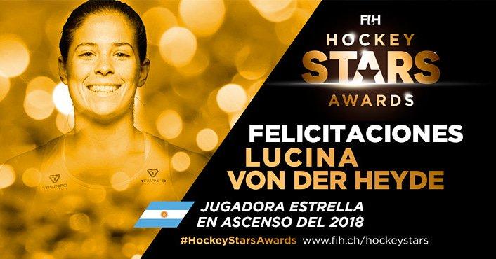"""La misionera Lucina Von der Heyde fue elegida como la """"mejor jugadora juvenil del mundo» por la Federación Internacional de hockey"""