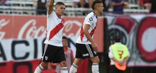 Superliga: en un partido accidentado, River venció a San Martín de Tucumán