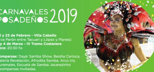 Villa Cabello se prepara para recibir los Carnavales Posadeños 2019