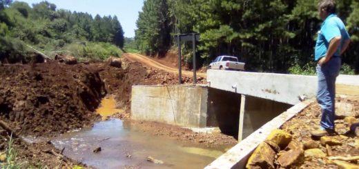 """Vialidad Provincial concretó más de 150 obras en Misiones con el programa """"100 Puentes"""""""