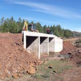 Vialidad Provincial inauguró dos puentes en la localidad de Almafuerte