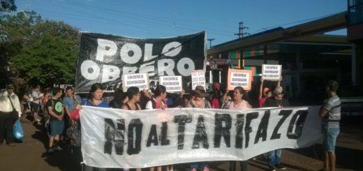 Polo Obrero realizará una protesta hoy a la tarde en San Pedro en contra de los tarifazos
