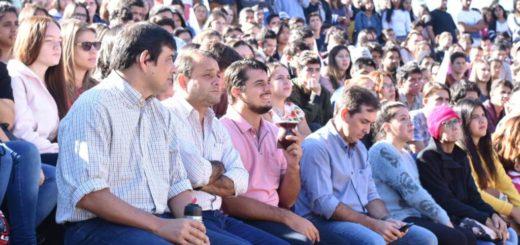 Más de mil jóvenes participaron del lanzamiento de la cuarta convocatoria al Programa Jóvenes con Más y Mejor Trabajo