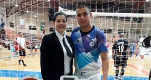 Luz Samudio, la misionera que dirigirá en el Mundial de Futsal que se disputará en Misiones