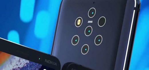 Nokia sube la apuesta y presenta su nuevo celular con cinco cámaras