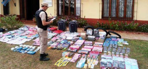 Prefectura secuestró contrabando por más de 2 millones de pesos en Corpus