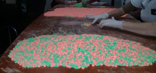 """Operativo """"Valija de Diseño"""": secuestraron más de 18.000 pastillas de éxtasis en Iguazú"""
