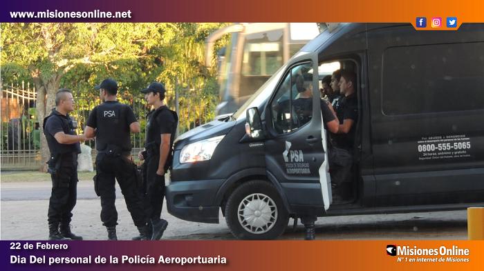En el Día del Personal de la Policía Aeroportuaria te brindamos detalles sobre esta formación profesional