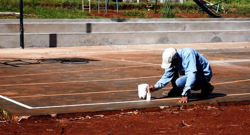 Presupuesto Participativo:finalizan obras de mejoramiento en la plaza del barrio Nueva Esperanza de Posadas
