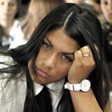 Rocío Santa Cruz fue detenida y trasladada a la Alcaidía de Mujeres